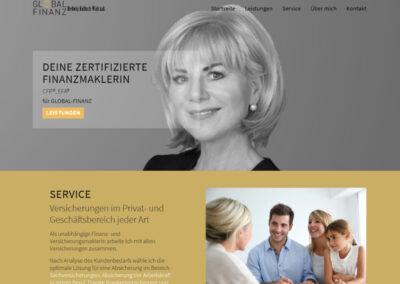Finanzmaklerin Hedwig Walczak